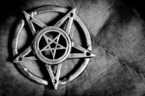 Черная Пентаграмма дьявола