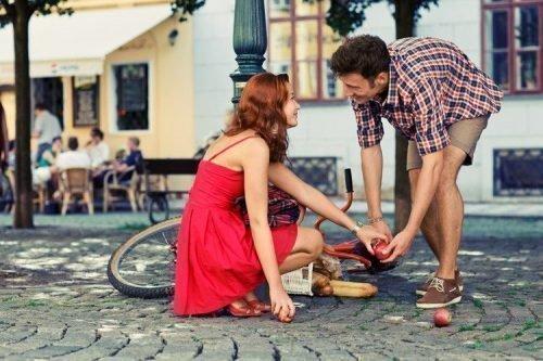 Знакомство парня с девушкой