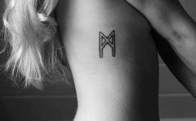 Татуировки руны: описание, значение