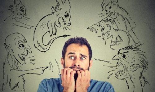 Человек с психическими отклонениями