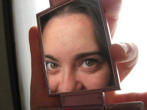 Глаза в зеркале