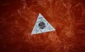 Расположение денежного треугольника на ладони