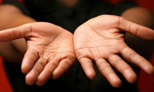 линия развода на руке