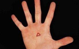 Толкование треугольника на ладони