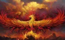 Образ птицы Феникс в мифологии
