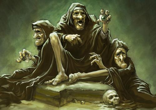 мифические существа древней греции