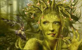 Нимфы лесов в греческой мифологии
