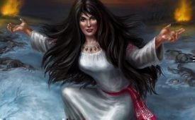 Богиня Морана в славянской мифологии