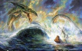Самые страшные морские создания в мифах