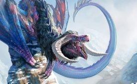 Вид драконов под названием виверна