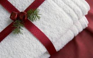 Приметы о подаренном полотенце